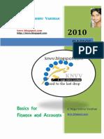 Finance and Accounts Basics