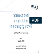 Stainless Steel a Bright Future in a Changing World PPG May 2012