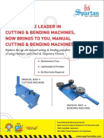 Manual Cutting and Bending - Spartan India
