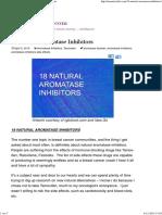 18 Natural Aromatase Inhibitors MarnieClark