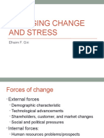 Managing Change and Stress