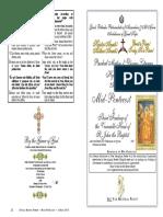 2016- 25 May - Mid Pentecost