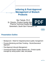 Taticek-Product Monitoring & Post-Approval Lifecycle Management of Biotech Products
