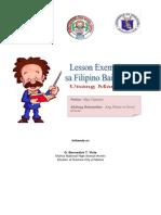 Exemplar 2 Sa Filipino Grade 7