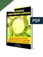 The Ultimate Credit Loophole by WIZCREDITGURU