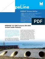 1502 HOBAS PipeLine Railway Jacking