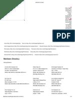 Forging Members Directory