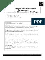 Pilot Paper