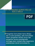 Pola & Proses Komunikasi Keluarga