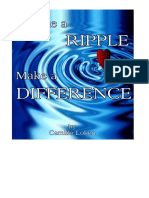 Make a Ripple, Make a Difference by Camillo Loken