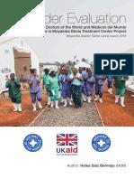 Gender Evaluation of the Ebola Response at Moyamba ETC
