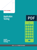 Application Testing 0709