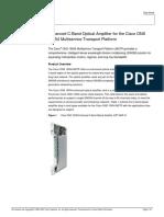 Data Sheet CISCO DWDM