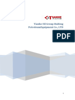 Catálogo de Tianhe Oil Group Equipment