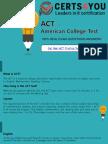 ACT Practice Test