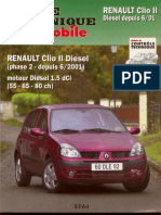 Revue Technique Automobile Ren4ult Cli0 2 Phase 2