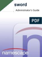 MyPassword Administrator's Guide Enterprise