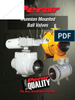 Perar Trunnion Ball Valves