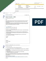 SAP DME File Bank Transfer