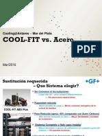 +GF+ COOLFIR VS. ACERO 2016