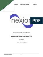 GoodX integration appendix to Nexion User Manual v2 6