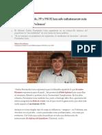 Entrevista Carlos Fdz Liria - En El Mal Sentido, PP y PSOE Han Sido Infinatamente Más Populistas Que Podemos