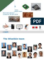WiseSkin - Nano-Tera 2016