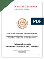 Ade Lab Manual
