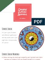 chinese zodiac animals 4th grade