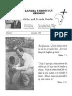 Dumler Mike Brenda 1980 Zambia