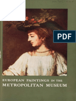 A Concise Catalogue of the European Paintings in the Metropolitan Museum of Art