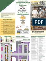 Pastoral Artisan brochure