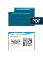Aula 1 - Definições Basicas Da Modelagem Estrutural - RESMAT 1