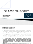 Game Theory Ppt