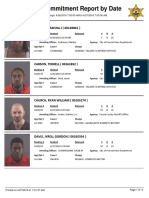 Peoria County Jail booking sheet April 27, 2016
