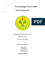 makalah dewasa awal tugas MKDK