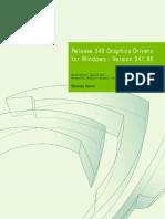 341.95 Win8 Win7 Winvista Desktop Release Notes