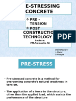 Pre-stressing Concrete G2(Maliki,Dayat & Wildan)