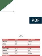 Lab Diagnosa