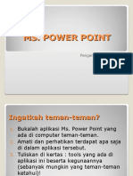 Pengenalan Power Point