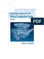 Engineering Fundamentals of the Internal Combustion Engine