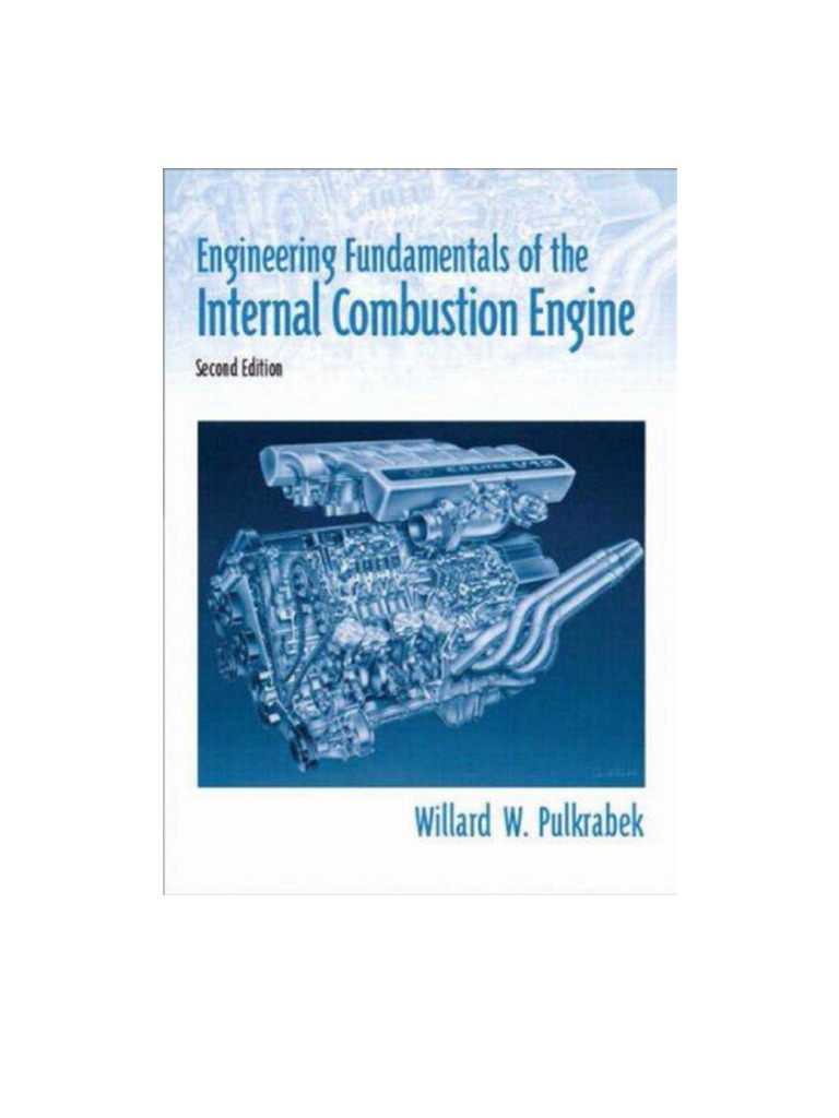 Engineering Fundamentals of the Internal Combustion Engine | Internal  Combustion Engine | Cylinder (Engine)