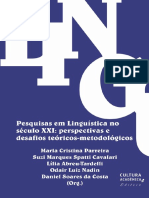 Pesquisa Em Sociolinguística