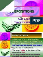 Eng.grammer Prepositions