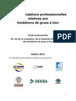 Recommandation Fondations Des Grues a Tour 2015b