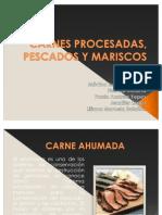 Carnes Procesadas Pescados y Mariscos