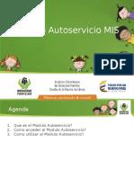Presentación Modulo Autoservicio - ICBF VF