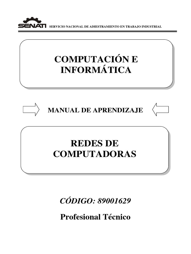 89001629 Redes de Computadoras
