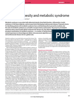 Abdominal Obesity and Metabolic Syndrome Nature