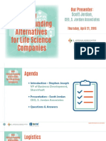 New FinTech Funding Alternatives for Life Science Companies